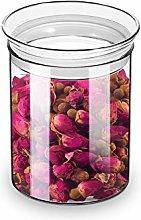 ZENS Airtight Glass Jar Container,15 Fluid Ounce