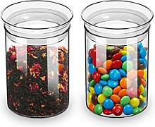 ZENS Glass Canisters Jar with Lid, Airtight Sealed