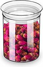 ZENS Glass Jar Container, Airtight Storage Jars