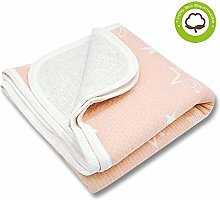Zenssia 100% organic cotton Toddler Blanket Crib