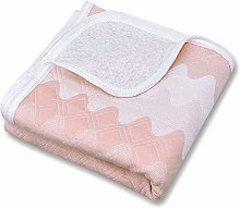 Zenssia 100% organic cotton Toddler Blanket Crib