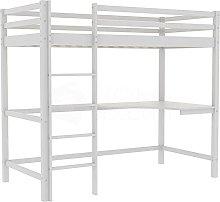ZeoTioo High Sleeper Bunk Bed Cabin Loft Bed Frame
