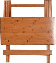 ZEQUAN Folding Table Bamboo And Wooden Table