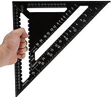 Zer one1 Ruler, Aluminum Alloy Triangular Shape