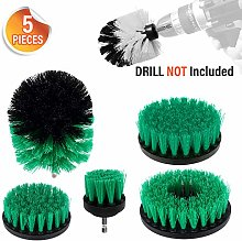 Zerich Drill Brush 360 Attachments 3Pcs/Set