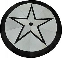 Zerimar Cowhide Area Rug Patchwork 46, Area Rug