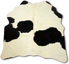 Zerimar Natural Cowhide Area Rug 53x51 inch
