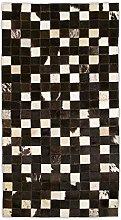 Zerimar Patchwork Cowhide Rug | Dimensions: 120 x
