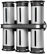 Zero Gravity Wall Mounted Magnetic Spice Rack with