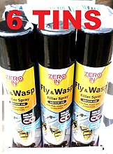 ZERO IN 6x Fly Wasp Mosquito Killer Spray