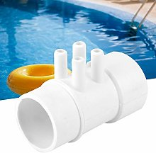 Zerodis 1.5in 10mm 4 Port Swimming Pool
