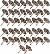 Zerodis 50 PCS Thickened Upholstery Nails Tacks,