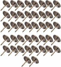 Zerodis 50 PCS Thickened Upholstery Nails Tacks,