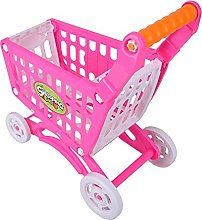 Zerodis Shopping Cart Toy, Children Supermarket