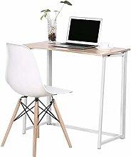 Zerone Compact Folding Computer Desk, Concise