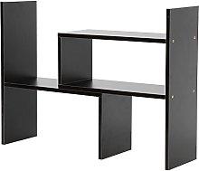 Zerone Desk Storage Rack, Adjustable DIY Table