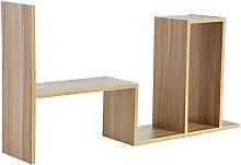 Zerone- Desk Storage Rack, Adjustable DIY Table