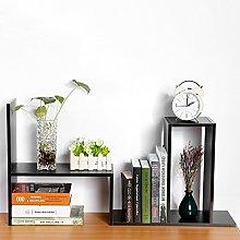 Zerone DIY desk bookshelf, storage shelf, table