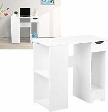 Zerone Home Office Compact Computer Table, H