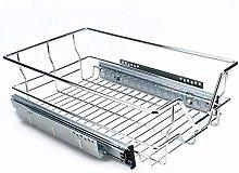 Zerone Kitchen Sliding Basket, Pull-Out Wire