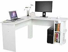Zerone Study Table, L-Shaped Corner Computer