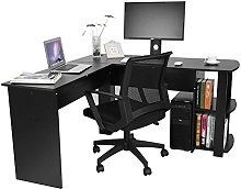 Zerone Table for Office in Wood Corner Desk, Table