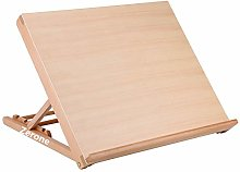 Zerone Wooden Drawing Board, Table Easel Desk A2