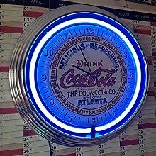ZEROPOINT-SHOP NEON CLOCK - COCA COLA ATLANTA SIGN