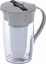 ZeroWater 8 Cup Round Water Filter Pitcher, clear