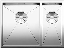 Zerox Kitchen Sink, Silver, 521611