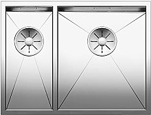 Zerox Kitchen Sink, Silver, 521614