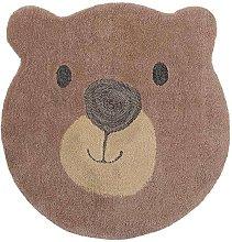 Zest Kids Bear Face Brown 70cm Diameter