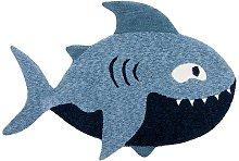 Zest Kids Shark Blue 90 x 150cm