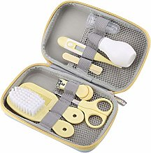 Zetiling Baby Grooming Set, Baby Hair Brush/Nail