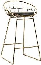 Zfggd bar stool Fashion heigh Chair Barstool with