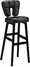 Zfggd bar stool Wooden Barstools Upholstered