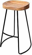 Zfggd Dining Chairs Retro Metal Legs Design Bar