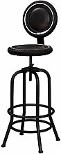 Zfggd Tall Bar Stools High Chairs Metal Iron Tire