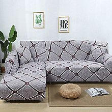 ZFHNY Stretch Sofa Slipcover with 1 Pillow