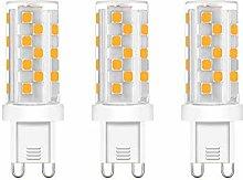 ZFQ 3 Pack Dimmable G9 LED Bulbs, 5 Watt, 46 SMD