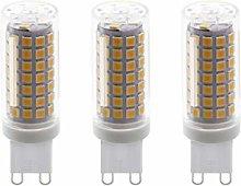 ZFQ 3 Pack Super G9 LED Bulbs, 9 Watt, 88 SMD 2835