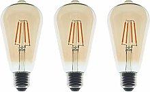 ZFQ 4W Edison Bulb LED Filament Vintage Bulbs, 40W