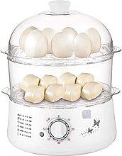 ZFQZKK Egg Boiler Electric 2 in 1Mini Egg Boiler,