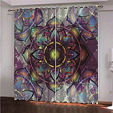 ZFSZSD Blackout curtains Color & pattern Thermal