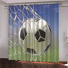 ZFSZSD Super Soft Curtain basketball blackout