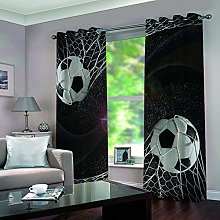 ZFSZSD ZSZSD Printed Kids Blackout Curtains