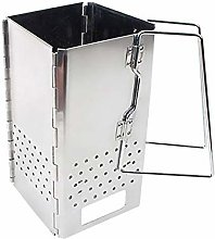 ZFW Bbq Charcoal Firewood Stove Collapsible