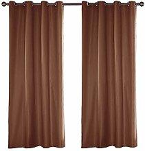 ZGC Outdoor Curtain, Long Window Sheer Eyelet