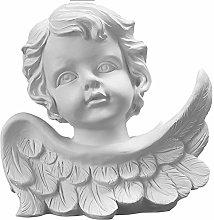 ZGPTX Angel Plaster Statue Decoration Nordic