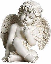 ZGPTX Nordic Style Retro Beauty Lady Little Angel